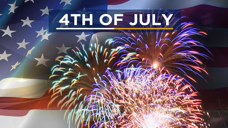 Fourth of July Closing